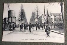 CPA. Saint DIZIER. 52 - L'Avenue de Bar. 1918. Correspondance amusante.