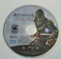 Assassins Creed Ezio Trilogy (Sony PlayStation 3) No Case, No Manual =Game Only=