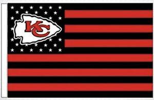 Chiefs FLAG 3X5 Kansas City Banner American Football New Fast USA Shipping