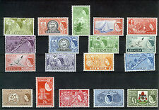 BERMUDA 1953 DEFINITIVES SG135/150 MNH