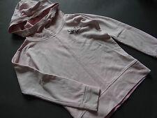 TOM TAILOR Rosa grau meliertes Kapuzenhoodie Sweatshirt coole Kapuze Gr. Gr.140