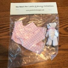 New Outfit for Heather Maciak Lexie & Jenny Dolls Pink Pjs Jo's Doll Shoppe