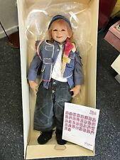 Annette Himstedt Puppe Freddie 80 cm. Top Zustand