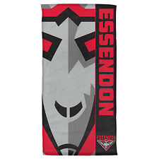 Essendon Bombers Beach Afl Bath Gym Towel Fathers Day Christmas Gift