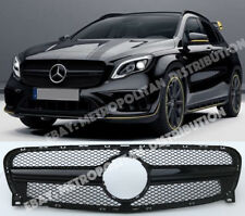 FOR Mercedes X156 gloss BLACK grille,NIGHT EDITION,AMG GLA45,200 220 250 CDI