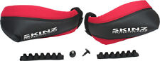 INSTOCK Skinz Heat Loc Black/Red Hand Guards for Snowmobile ATV HGP100-BK/RD