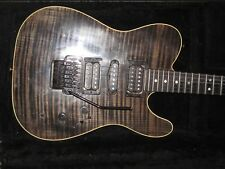 Fender Custom Shop set neck TELECASTER 1991 USA Floyd Rose pro avec double bobinage