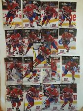 Montreal Canadiens Season 2008-2009 Postcards