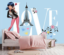 312x219cm Wandbild Premium Tapete für Mädchen Schlafzimmer Wunder Blau Papier