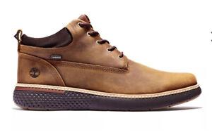Mens Timberland Brown Cross Mark Gore-Tex  Chukka Boots.Size 9.RRP £160.BNWT!!