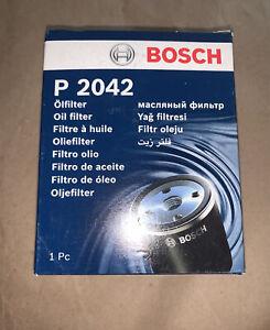 Bosch Oil Filter - Hyundai, Kia, Mazda, Mitsubishi. P2042.