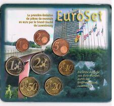 LUXEMBOURG LUXEMBURG 2002 EURO COIN SET BU