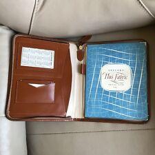 1960s Writing Case Tan Leather 1964 Calendar Paper Walsall Football Club Reg D