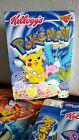 5 Kellogg's Cereal Pokemon Limited Edition Foil Box 2000 Pikachu Flattened RARE