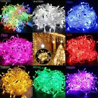 10M 100LEDS Charming String Fairy Wedding Light Lamp Xmas Party Christmas Decor