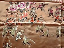 home deco fabric Upholstery Chinese quilt bedding rose gold bed coverlet