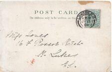 Family History Postcard - Jones - Roscoe Street - St Lukes - London - Ref 1823A