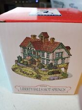 Liberty Falls Americana Collection Village Ah164 Hot Springs Hand Painted 1998