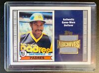 2002 Topps Archives DAVE WINFIELD Game-Worn Uniform Jersey Patch Relic #30