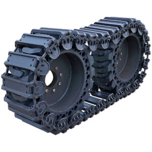 Prowler 10 Inch Fusion Steel Skid Steer Over The Tire Tracks - OTT, 10x16.5