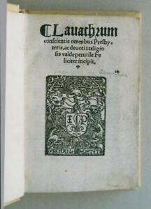 Lavachrum coscientiae omnibus presbyteris, ac devotis religiosis valde per utile