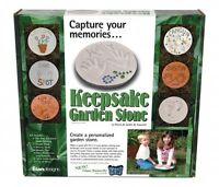 Make Your Own Stepping Stone Crafting Kit - KeepSake Stone Makes a Great Gift