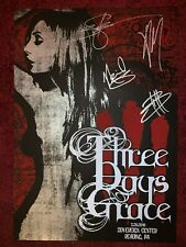 X384 Three Days Grace Canadian Rock Band Groundswell Music Art 40x27in Poster