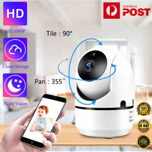 1080P WiFi IP Security Camera Monitor Wireless Indoor CCTV System Home Baby Pet