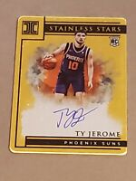 2019 Impeccable Stainless GOLD Ty Jerome /10 RC Auto Rookie Autograph