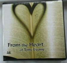 "TONY EVANS ""FROM THE HEART"" - 8-CD-SET - BRAND NEW"
