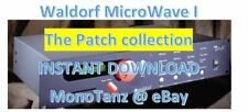 Waldorf MicroWave I - Largest Patch collection - INSTANT D0WNLOAD LINK