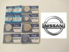 Pile de remplacement pour clé NISSAN tous modèle au choix - Piles Neuves