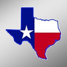 USA America Car Vinyl Die-Cut Decal Sticker 07002 Texas State Home Outline