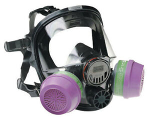 North Full Face Respirators, 7600 Series, Size M/L, Filters Not Included!!