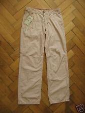 NUOVO Coast Weber Ahaus Designer Pantaloni Trousers checks A QUADRI BEIGE Tg. 52 (L)