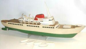 """Vintage RC Maquette """" Hochseepassagier - Bateau à Vapeur """" - Modèle- Longueur 90"""