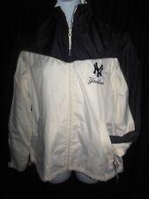 New York Yankees Women's G-III Front Zipper Light Weight 2 in1 Track Jacket Med