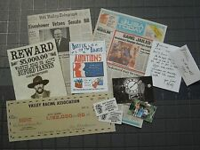 Back to the Future 1/6 scale Newspapers and Documents - for Hot Toys Marty McFly