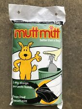 Mutt Mitt 2ply - Pack of 100 Better Than a Bag Disposable Dog Waste Mitt