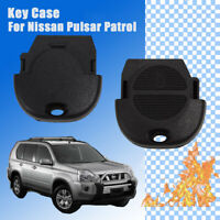 For Nissan 2 button Remote Key Case Shell Pulsar Patrol Blank Replacement Head