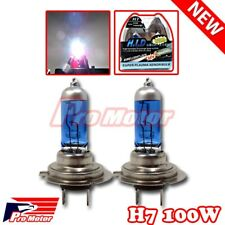 H7 5000K 100W V12 Hyper White Low Beam Halogen Gas Xenon Headlight Light Bulbs