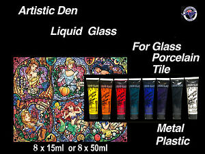 Stained Glass Paint Porcelain Paint Glass And Tile Paint Tile Paint 15ml & 50ml