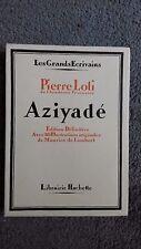 "Pierre Loti   "" Aziyadé  ""  illustré par Maurice de Lambert  1931"