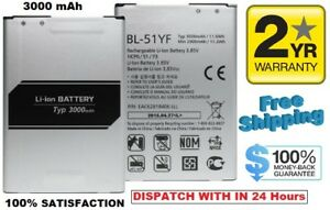 Replacement Battery Fits With LG G4 Optimus H810 H811 LS991 VS986 BL-51YF