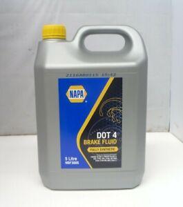 Brake and Clutch Fluid Dot 4 5L SAE J1703 J1704 FMVSS No116 DOT 4 ISO 4925 Napa