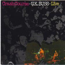 Crash Course - Live - U.K. Subs ( Trance Records – TCCD 9.00675 O  )