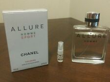 Chanel Allure Homme Sport Cologne 2ml Sample 100% authentic