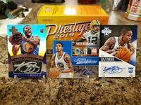 🔥KENT BAZEMORE ROOKIE ON CARD AUTO LOT ELITE & INNOVATION WARRIORS OLD DOMINION