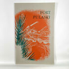 1954 Fort Pulaski Vintage Travel Guide Booklet Georgia History Civil War GA