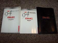 1994 GMC Suburban Owner User Guide Operator Manual Diesel V8 5.7L 6.5L 7.4L